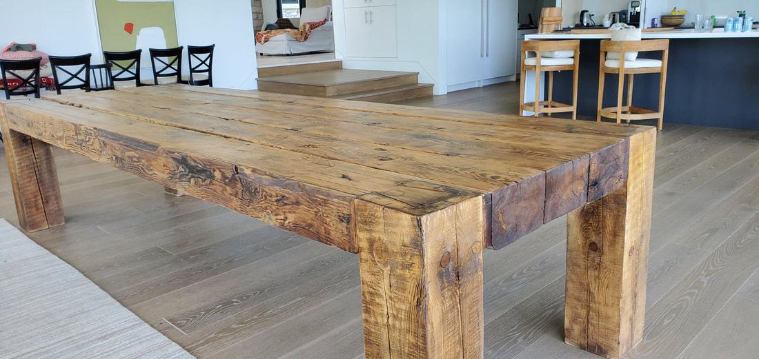 Custom Built Dining Tables And Solid Wood Furniture Kitchener G B Urban Design Furniture Custom Cabinets