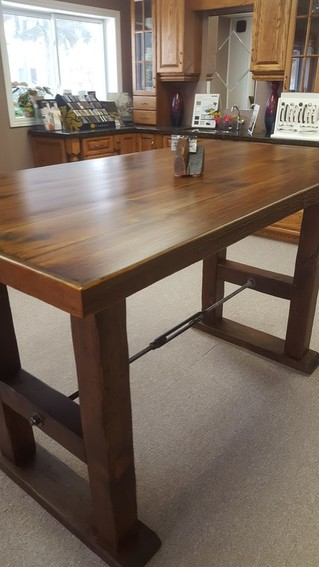 Custom Built Dining Tables And Solid Wood Furniture Kitchener GB - Cheap reclaimed wood dining table